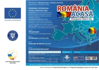 """Proiecte in derulare - ,,România Acasă – Diaspora Start Up"""" - POCU/89/3/7/107619"""