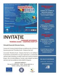 "Caravana de informare ""România Acasă – Diaspora Start Up"""