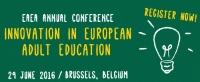Noutati - Asociația Europeană pentru Educația Adultilor (EAEA) Adunarea Generală și Conferința Anuală, 28 - 29.06.2016