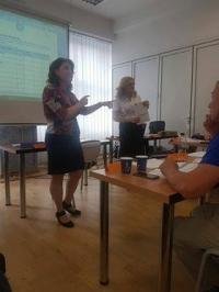 Finalizarea celui de al IV-lea curs de antreprenoriat - proiect Romania Acasa - Diaspora Start Up